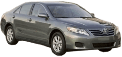 Family Car Rental - Gold Coast - 2011 Toyota Camry