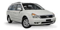 Van Hire - Gold Coast - 2012 Kia Grand Carnival