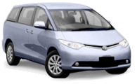 Van Hire - Gold Coast - 2010 Toyota Tarago