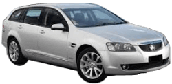 Family Car Rental - Gold Coast - 2012 Holden Commodore Sportwagon