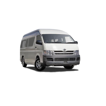 Van Hire - Gold Coast - Toyota Hiace Commuter