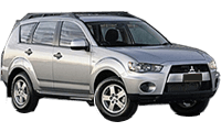 Family Car Rental - Gold Coast - 2012 Mitsubishi Outlander
